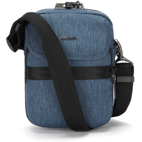 Pacsafe Metrosafe X Compacte Crossbody Tas, dark denim